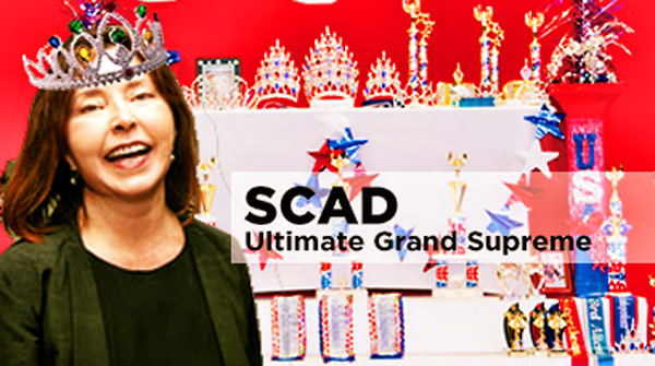 SCAD Fall Quarter Faculty Pageant Buzz!