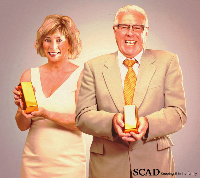 Paula Wallace_Accreditation season at SCAD. Awaiting the accreditation team—SCAD style